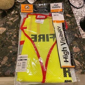 NWT ML KISHIGO Fire Safety Vest